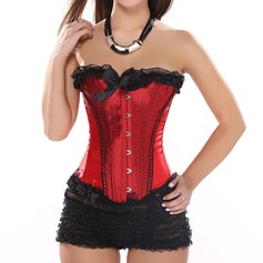 Women Sexy/Honeymoon Spandex Waist Cinchers With Lace Shapewear