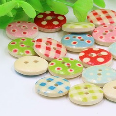 Pretty Wooden Buttons