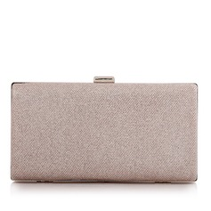 Fashionable Polyester/Alloy Clutches/Bridal Purse/Minaudiere