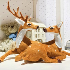 """Fun Time"" Christmas Design Christmas Deer Ornaments"