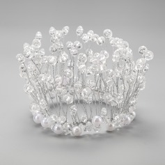 Gorgeous Crystal/Alloy/Imitation Pearls Tiaras