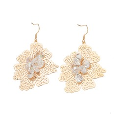 Beautiful Alloy With Zircon Ladies' Fashion Earrings (137061055)