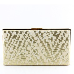 Unique Metal/Fabric Clutches/Fashion Handbags