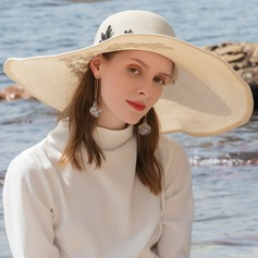 Ladies' Glamourous/Classic/Elegant/Simple/Nice Polyester Beach/Sun Hats