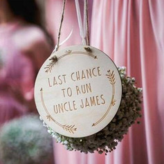 Nice/Personalized Wooden Wedding Sign