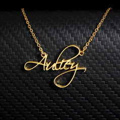 18k Gold Plated Name Name Necklace Pendant Necklace - (288251799)