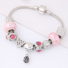 Shining Alloy Rhinestones Ladies' Fashion Bracelets
