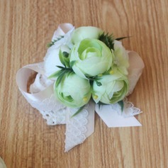 Girly Satin Wrist Corsage -