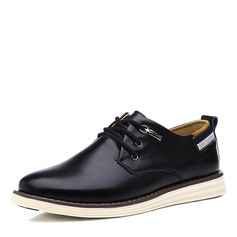 Men's Real Leather Casual Work Men's Oxfords