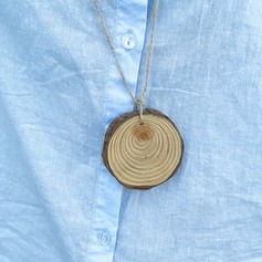 Vintage Style/Classic Round Wooden Tags