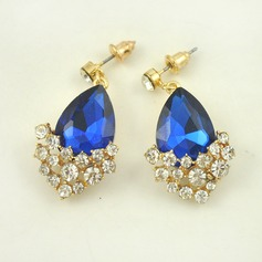 Exquisite Alloy With Imitation Crystal Ladies' Fashion Earrings