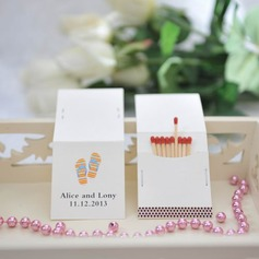 Personalized Shoes Design Hard Card Paper Matchboxes
