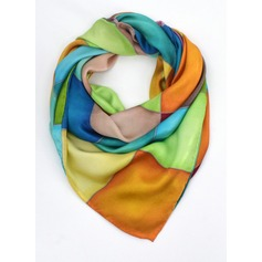 Color Block Neck/Square Scarf