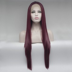 Straight Synthetic Synthetic Wigs Lace Front Wigs
