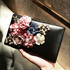 Girly PU Clutches/Satchel