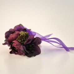 Classic Hand-tied Satin Wrist Corsage -