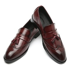 Men's Leatherette Tassel Loafer Casual Men's Loafers (260187369)