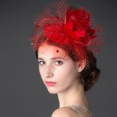 Beautiful Net Yarn Fascinators
