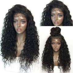 Curly Synthetic Hair Lace Front Wigs 330g