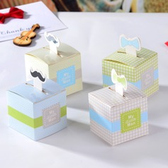 """My Little Man"" Cuboid Favor Boxes"