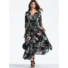 Cotton With Print Maxi Dress (199173894)