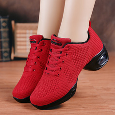 Women's Fabric Sneakers Modern Jazz Sneakers Dance Shoes