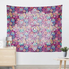 plant print Wall Hanging Tapestry Bohemian Room Decor Bedding Rug(Sold in a single piece)
