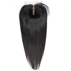 "4""*4"" 4A Straight Human Hair Closure (Sold in a single piece) 100g"