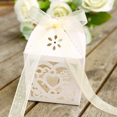Laser Cut Box Wedding Candy Box  (050146443)