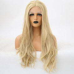 Body Wavy Synthetic Hair Lace Front Wigs 340g