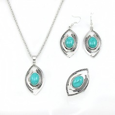 Chic Alloy Ladies' Jewelry Sets