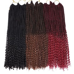 Synthetic Hair Braids (Sold in a single piece) 80g