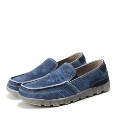 Men's Denim Monk-straps Casual Men's Loafers