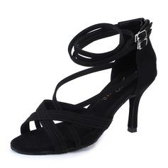 Femmes Suède Talons Latin Chaussures de danse