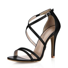 Women's Leatherette Stiletto Heel Sandals shoes