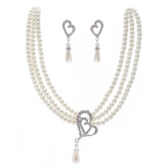 Classic Imitation Pearls Jewelry Sets