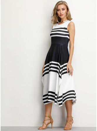 Polyester Asymmetrical Dress