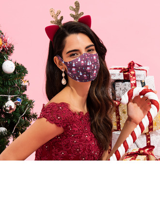 Christmas Non-Medical Cotton Reusable Face Masks