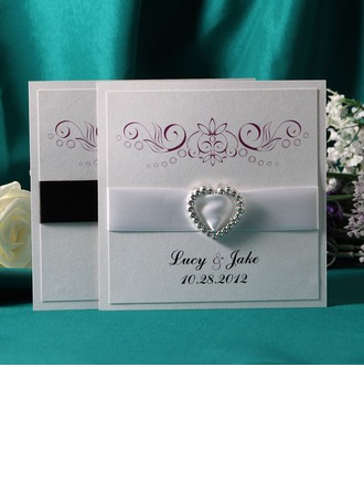 Personalized Classic Style Flat Card Invitation Cards