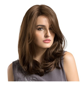 Wavy Synthetic Hair Capless Wigs 310g