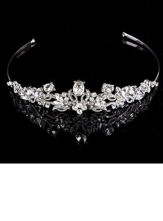 Ladies Unique Rhinestone/Alloy Tiaras