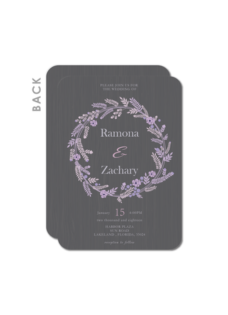 Endearing Bouquet Wedding Cards