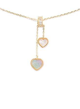 Silver Heart Pendant Necklace For Mother/Mom For Girlfriend