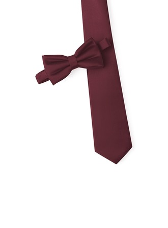 JJ's House Satin Tie & Bow Tie Set