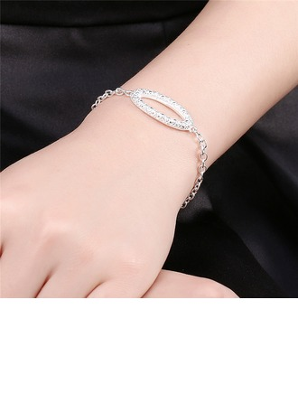 Chic Alliage Strass avec Strass Dames Bracelets de mode