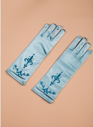 Satin Elbow Lengde Glove