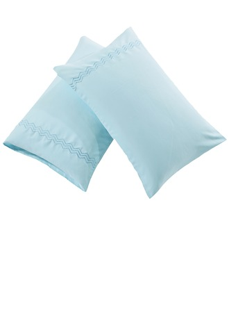 Casual Cotton Pillowcases (Set of 2)