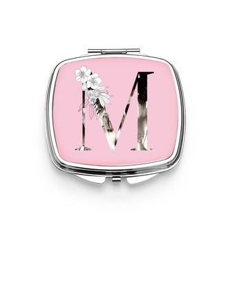 Bridesmaid Gifts - Personalized Special Eye-catching Stainless Steel Compact Mirror