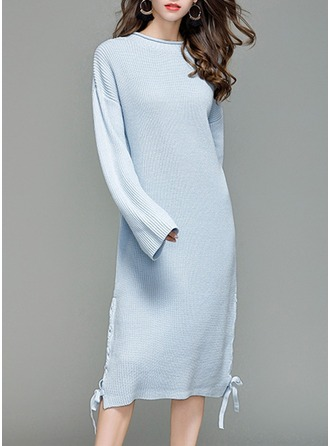 Knitting Midi Dress
