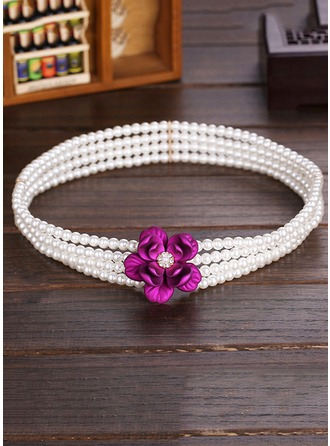 Fashional Imitation Pearls Belt